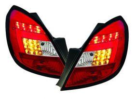 Lightbar LED Rückleuchten Opel Corsa D 06-14 5-Türer rot