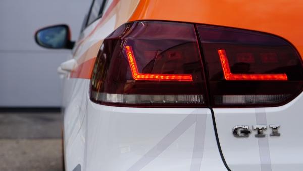 Osram Voll LED Rückleuchten VW Golf 6 VI 08-12 Laufblinker