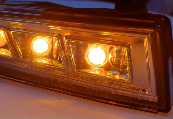 LED Blinker Frontblinker VW Passat 3C B6 05-10 smoke mit Laufblinker