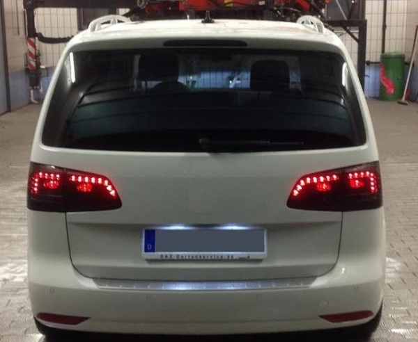 LED Rückleuchten VW Touran 1T3 GP2 2011+ smoke rauch