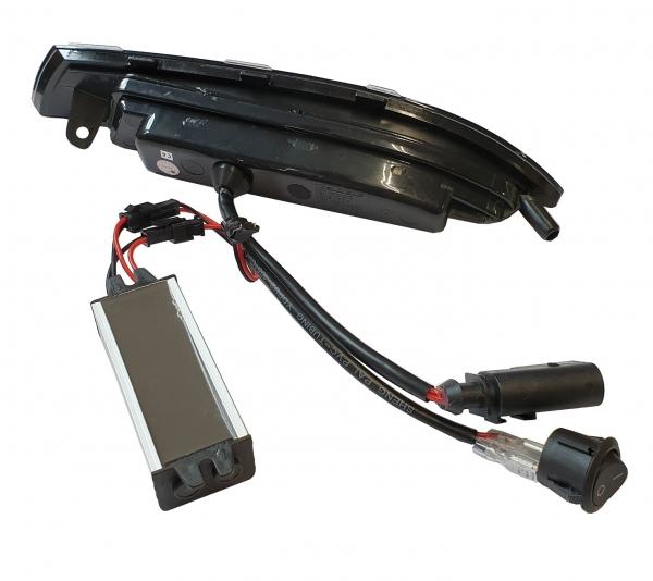 Frontblinker + Standlicht VW Scirocco 3 Typ 137 08-14 schwarz dynamischer Blinker