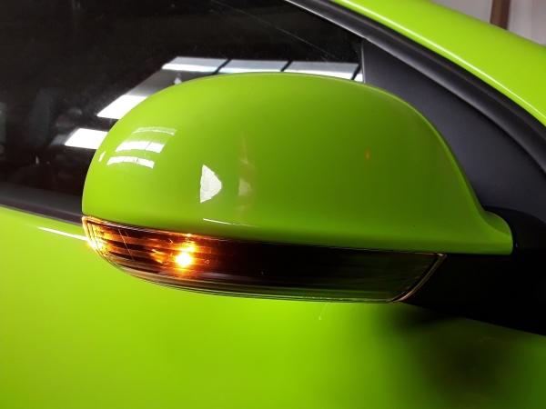 LED Spiegelblinker VW Golf 5, Passat 3C B6, 3BG, Jetta schwarz