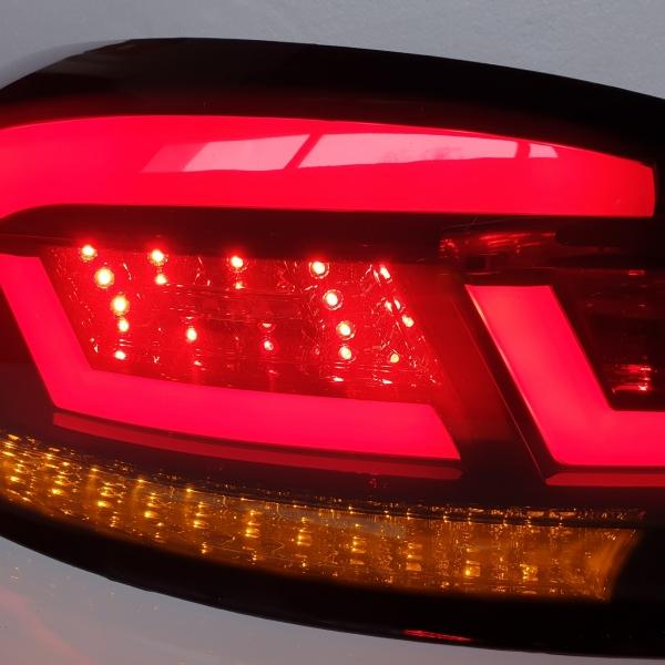 LED Rückleuchten rot rauch mit dynamischem Blinker VW SCIROCCO 08-14
