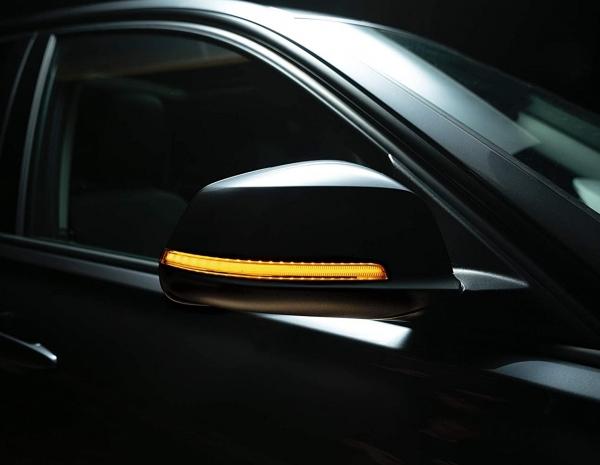 OSRAM Dynamischer LED Spiegelblinker BMW F20 F21 1er Laufblinker BLACK-EDITION