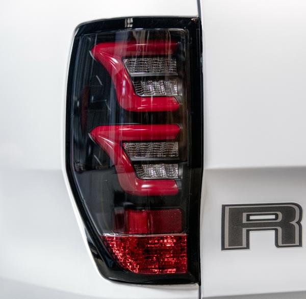 Lightbar LED Rückleuchten Ford Ranger T6 T7 2012+ schwarz