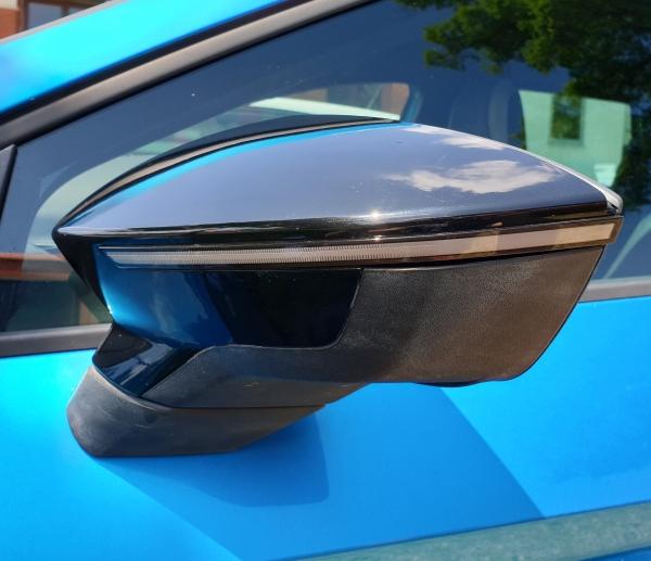 OSRAM Dynamischer LED Spiegelblinker Seat Arona / Ibiza KJ Laufblinker black
