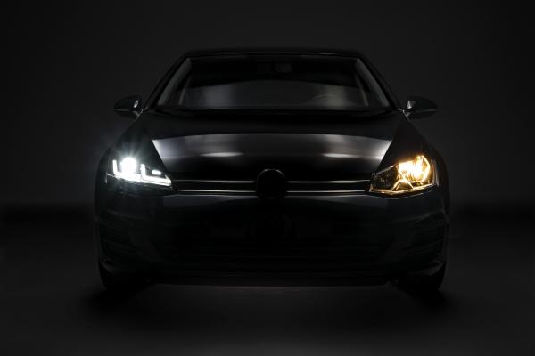 OSRAM LEDriving Scheinwerfer VW GOLF 7 Facelift 17-20 schwarz