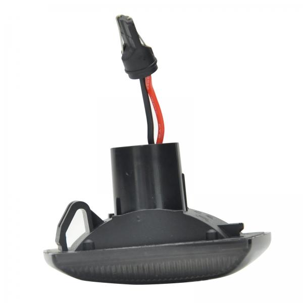Dynamische Led Seitenblinker schwarz Opel Astra H 04-09 Astra J 09-11 Corsa D 06-10 LAUFLICHT