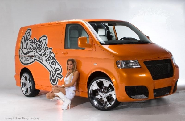 Bodykit CI-Design VW T5 2003 bis 2009