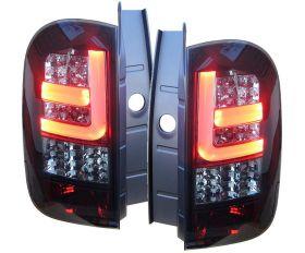 LED Rückleuchten DACIA Duster 09-15 mit LED Blinker black/smoke