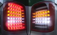 LED Rückleuchten VW T5 2003- inkl. Facelift rot/klar