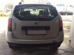 carDNA Voll-LED Rückleuchten Dacia Duster 09+ schwarz LIGHTBAR