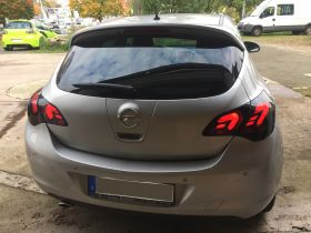 carDNA LED Rückleuchten Opel Astra J 09+ schwarz rauch
