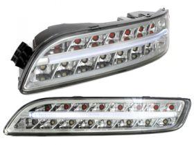 LED Rückleuchten Porsche 911 997 04-08 + LED Frontblinker Lightbar Standlicht