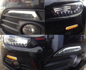 carDNA LED Frontblinker Standlicht VW Scirocco 3 08+ smoke rauch