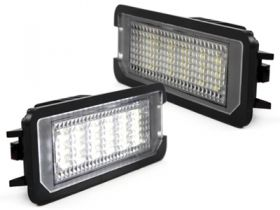 LED Kennzeichenbeleuchtung VW Golf VI 6,Polo 6R,EOS,Passat 3C/CC