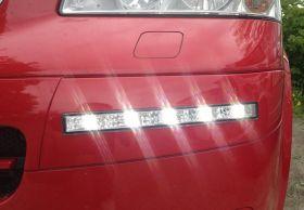 LED Tagfahrlicht VW T5 Multivan 03-09 chrom Tagfahrleuchten