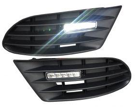 LED Tagfahrlicht VW Golf 5 Plus 05-09 ohne NSW inkl. Blende