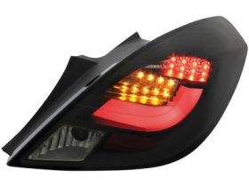 LED Rückleuchten Opel Corsa D 06-14 3-Türer black/smoke schwarz