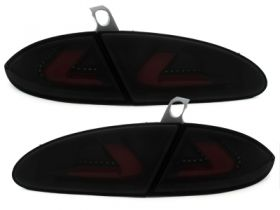 carDNA LED Rückleuchten Seat Leon 1P 05-08 black/smoke schwarz
