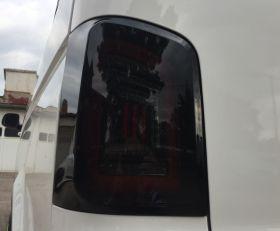 Voll LED Rückleuchten VW T5 2003-2015 schwarz rot Laufblinker