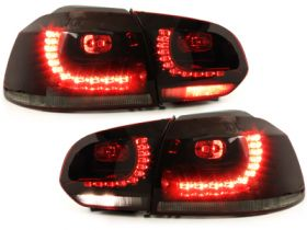 LED Rückleuchten VW Golf VI 6 08-12 red/smoke GTI / R-Look