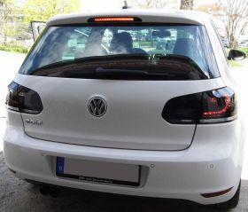 LED Rückleuchten VW Golf VI 6 08+ black/smoke GTI R-Look schwarz