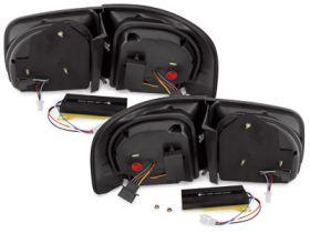 carDNA Lightbar LED Rückleuchten VW Touareg 02-10 schwarz