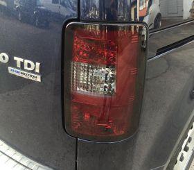 LED Rückleuchten VW Caddy Bj. 03-15 rot-schwarz FLÜGELTÜRER
