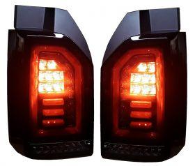 Voll LED Rückleuchten VW T6 2015+ schwarz rot Laufblinker