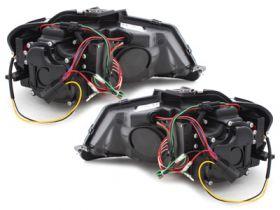 Lightbar Scheinwerfer Audi A3 8P 08-12 LED TAGFAHRLICHT schwarz