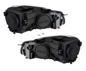 LED TAGFAHRLICHT Scheinwerfer VW Golf 6 VI 08-12 black schwarz DEPO