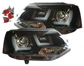Lightbar Tagfahrlicht Scheinwerfer VW T5 Bus GP Facelift 09-15
