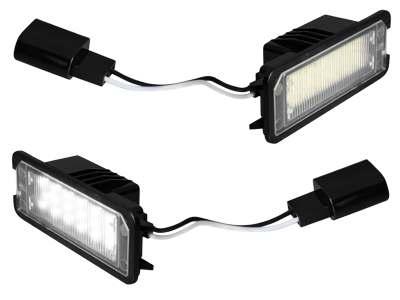 LED Kennzeichenbeleuchtung Volkswagen Golf IV, V, Lupo, Beetle u