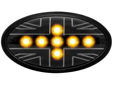 LED Seitenblinker Mini Cooper/S/JCW/R50/R53 02-06 _black