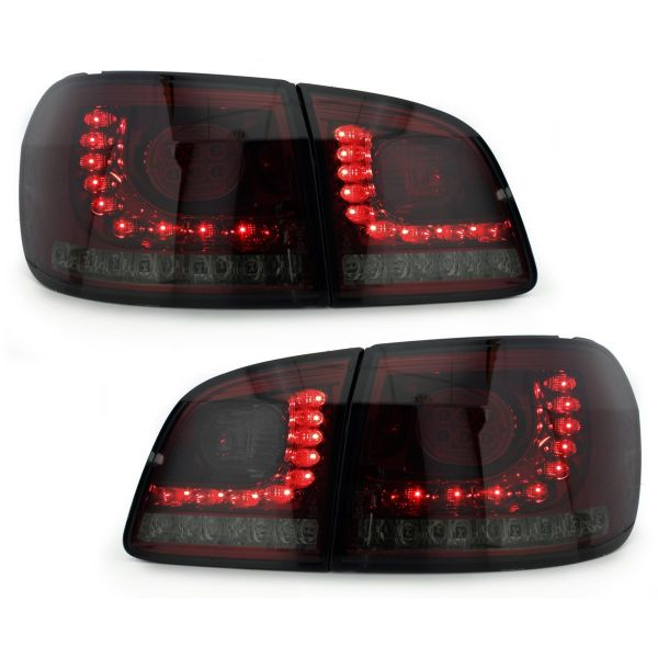 led r ckleuchten vw golf 5 golf 6 plus 05 rot rauch. Black Bedroom Furniture Sets. Home Design Ideas