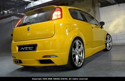 Heckschürze Fiat Grande Punto Toxic