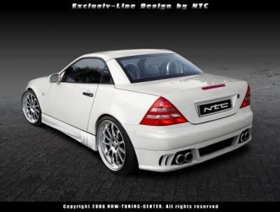 Heckansatz Mercedes SLK 170 Exclusive