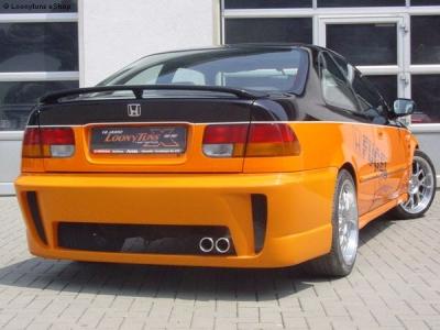Heckschürze Honda Civic Coupe 96-00 Streetfighter2