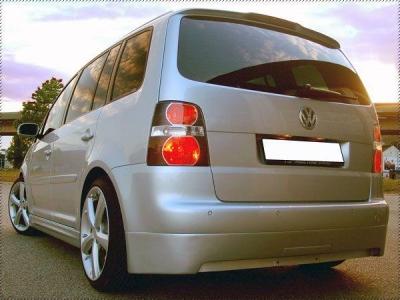 Heckansatz VW Touran Sportive ab Facelift für AHK