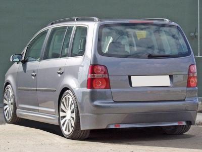Heckansatz VW Touran Sportive ab Facelift mit Reflektoren