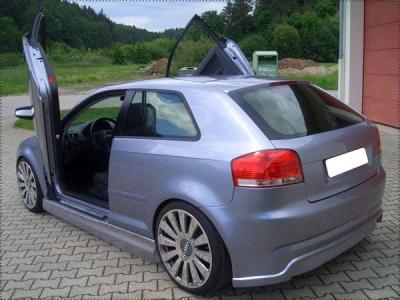 Heckschürze Audi A3 8P GT