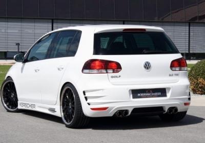 Heckschürze VW Golf VI Phönix mit Parkpilot-Einbausatz
