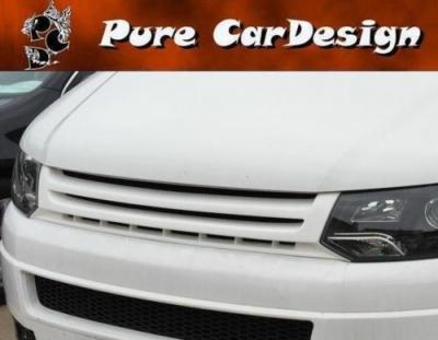 Frontgrill ohne Emblem mit Streben VW T5 Facelift