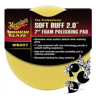 Meguiars Soft Buff 2.0 Polishing Pad
