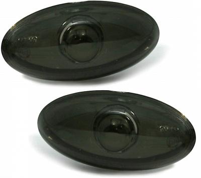 Seitenblinker Peugeot 206 / 206cc / 307 schwarz