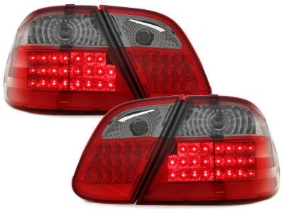 LED Rückleuchten Mercedes Benz CLK C208 06.97-02 rot-smoke