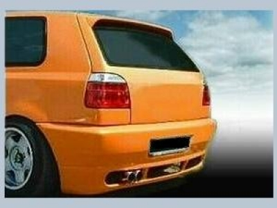 Heckschürze VW Golf 3 RS mit Kennzeichen