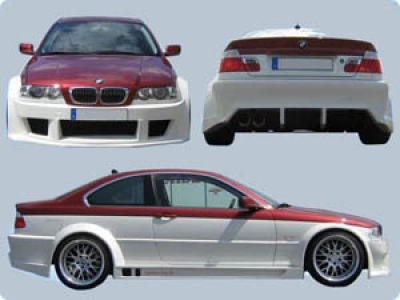 Wide-Bodykit BMW E46 Coupé/Cabrio CS