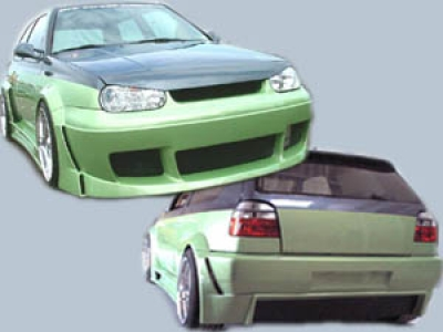 Wide-Bodykit VW Golf 3 Streetfighter Phase 1